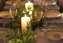 Tablescapes  / Table Decorations & Design, Table Settings