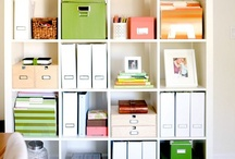 Organize / including DIY cleaning products and tips, repurpose organizing, etc. / by Kelly Beres