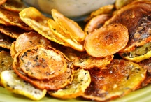 Make your Own CHIPS / Making your own chips ~ dehydrator or oven chips