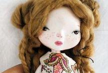 art dolls / tutorial / by ALLE Studio