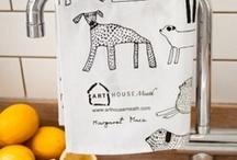 tea towels / by ALLE Studio