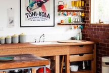 HOME/kitchen / by ALLE Studio