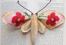 Felt Moths / Butterflys