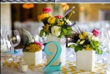 Wedding & Events 2 / table decor, table numbers/names, place settings