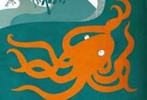 I heart Octopi / by Heather Rigney- Artist & Writer