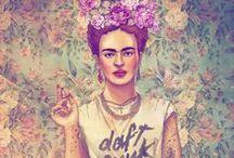Frida my love / by Heather Rigney- Artist & Writer
