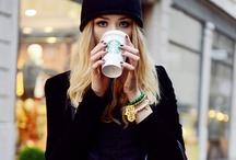Starbucks / Devotion to my favorite pasttime: Drinking coffee.