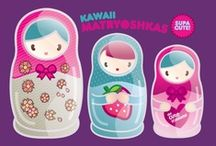 kawaii  / all the cutest things ever! / by hillary a. lichtenstein