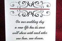 Black, White & Red Weddings / Various ideas for using the colors black white and red in wedding themes.