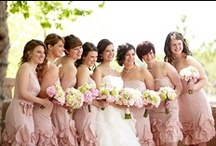 Pink Peony Inspired Wedding Ideas / Pink peonies are gorgeous for any special event, but for weddings, they seem to be even more beautiful!