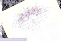 Wedding Guest Sign In Scrolls / Calligraphy watercolor guest sign in scrolls for keepsake memories of your wedding