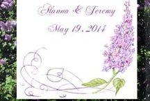 Lilac Theme Weddings / ideas and tips for lilac theme weddings