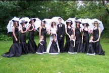 Black and White Weddings / Ideas and tips for black and white weddings