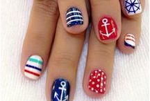 Mani of the Week / I am obsessed with nail polish colors and designs.