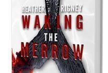 Waking The Merrow - dark, historical, mermaid fantasy available on Amazon, B&N, Kobo, and iTunes / Character studies for Heather Rigney's, The Merrow Trilogy. Book 1, Waking the Merrow, available now https://amzn.com/B00KIQGG6S / by Heather Rigney- Artist & Writer