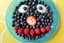 Fun snacks for kids / by Christine Verderame