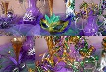 Mardi Gras Ideas! / Mardi Gras tips and ideas for planning your next mardi gras theme party or masquerade event.