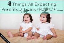 Pregnancy and Birth Twins Multiples / Congratulations you are pregnant with twin, triplets and multiples! Here are some great pins all about being pregnant with twins or more until birth.