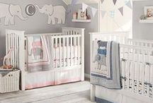 Twin Triplets Nursery Bedroom / Bedroom and nursery inspiration and design for your twins or triplets!