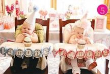 Twins First Birthday / Need ideas to plan your twins, triplets First Birthday?