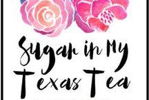 Sugar In My Texas Tea / http://blog.sugarinmytexastea.com/
