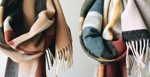 Scarf Love / Scarf and Snood Inspiration