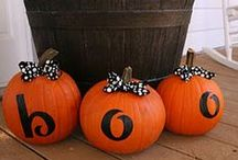 halloween. / pumpkins, tricks, and treats. / by Stephanie Stivers