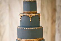 wedding inspiration || blue white black