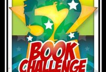 """52 Book Challenge / 2015 is the year of my BEST ME! So I'm building up my mental muscle with 52 """"good for me"""" books!"""