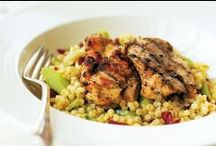 Chicken Recipes / Running out of ideas of what to make with ever-popular #chicken? Try this delicious selection of #recipes.