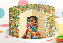 Kids' Birthday Cakes / Birthday parties are a breeze with these clever cakes.
