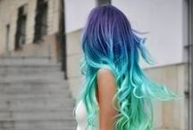 Colorful Hair and More / hair and beauty