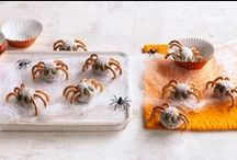 Halloween Treats / Have some fun on the spookiest day of the year with these #Halloween recipes!   For our full collection of Halloween treats, check out: http://www.taste.com.au/recipes/collections/halloween+recipes