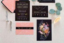 wedding || stationery