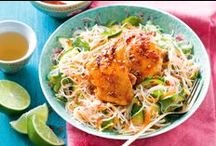 Noodle Recipes / #Noodles make a quick and easy snack in minutes; add protein and vegies for a complete and nutritious meal.
