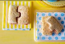 Kids' Snacks / Keep hunger at bay with these fun and tasty healthy snack #recipes for kids and babies.
