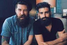 Bearded fellows / I'm a simple woman. I like handsome bearded men and breakfast food.  / by Angela P