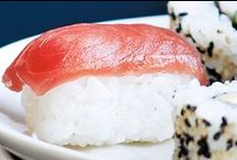 Sushi recipes / This traditional Japanese dish has hit the mainstream. Get the family involved in the fun of rolling up rice and seaweed around your favourite fillings. #sushi #recipes #japanese #food