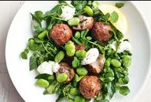 Meatball Recipes / Add meatballs to soups, sandwiches, salads, pasta dishes and even pizzas! You can use beef, pork, chicken, veal or even fish or lentils to make #meatballs.
