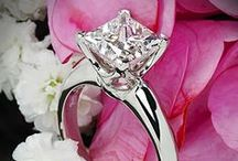 wedding || rings / engagement and wedding rings