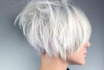 Cold as Ice / Platinum and icy blonde hair
