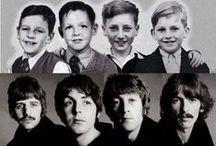 Beatles / Quatre garçons dans le vent : John Lennon, Paul Mac Cartney, Georges Harrison et Ringo Starr  John Lennon est mort assassiné  (1940-1980) Georges Harrison est mort de maladie (1943-2001)
