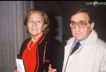 Lino Ventura (1919-1987) et Odette Lecomte Ventura (décédée en 2013) / Marié à Odette Lecomte (de 1942 à 1987) Quatre enfants :Clélia, Laurent, Linda (Trisomique) et Mylene