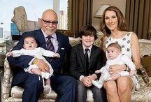 Céline Dion  et René Angelil  (1942-2016) / Mariage avec René Angelil Trois enfants : René-Charles et les jumeaux Eddy et Nelson