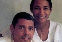 Jacques Brel  (1929-1978) / Marié à Thérèse Michielsen (de1950 à1978)  Trois filles : Chantal (1951-1999) France et Isabelle Des compagnes : Suzanne Gabriello, Maddly Bamy