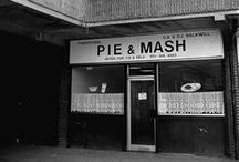 Pie and Mash Shops / Pies have been the staple diet of Londoners for centuries, the original fast food, and the London 'pie and mash' shops offer a meal that is steeped in history and ingrained in the very fabric of London.