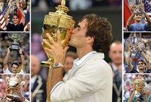 Roger Federer / Grand Tennisman suisse Marié à Miroslava Vavrinec  (depuis 2009) Quatre enfants : 2 jumelles Charlene et Myla 2 jumeaux Lennart et Léo