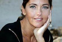 Cristiana Reali / En couple avec Francis Huster (séparé en 2008) Deux filles: Elisa et Toscane