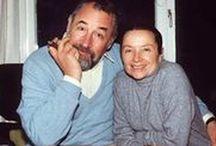 Philippe Noiret (1930-2006) et Monique Chaumette / Marié à Monique Chaumette (depuis 1962) Une fille : Frédérique et une petite-fille Deborah