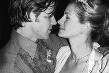 Julia Roberts / Deux mariages et un divorce : Lyle Lovett (de 1993 à 1995) et Daniel Moder (depuis 2002) Trois enfants : les jumeaux Phinnaeus Walter et Hazel, Henry